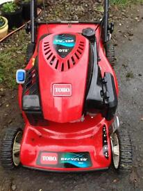 Petrol self propelled lawnmower - only two years old