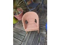 Childs wicker chair in great condition