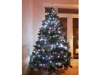 Luxury 7 Foot Christmas Tree (excluding lights & Decorations)
