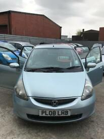 Honda jazz 1.3 petrol 5 doors hatchback 5 seater family car 2008 08 plate