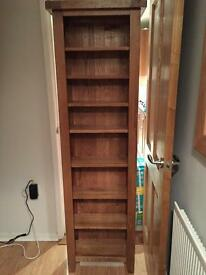Creations solid oak bookcase RRP £200