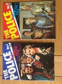 FULL SET OF 'THE POLICE OFFICIAL FILE' MAGAZINE 1-20