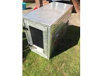 Aluminium travel dog cage crate