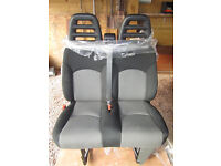 Citroen Relay Peugeot Fiat passenger seats - ideal for Motorhome conversion. New, unwanted, offers