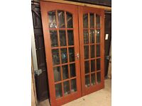 Wooden internal doors