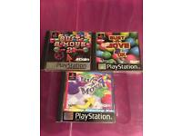 Playstation 1 bust a move games ps1
