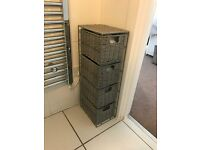 2 bathroom storage units (Brand new)