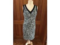 Episode Black and white tweed dress, size 12