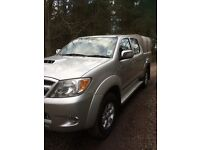 Toyota Hilux 2009 09. Genuine and reliable. £8250.00 plus VAT ONO. 59,400miles