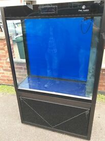 Cleair Pacific 315 marine tropical cold room divider fish tank aquarium