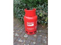 Red Propane Gas bottles empty