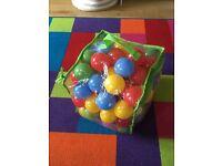 Children toddler baby Plastic balls for ball pit