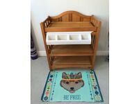 Mamas & Papas Solid Wood Changing Table with Bath