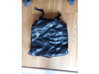 Recycled bike tyre Backpack Green Guru (Black Laptop Bag Used) NICE