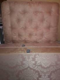 Double Mattress Set (1 double mattress, 1 double mattress base)
