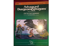 Advanced Dungeons & Dragons Eye of the Serpent