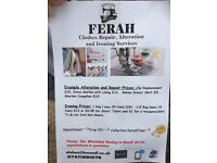 Ferah Ironing and alteration services