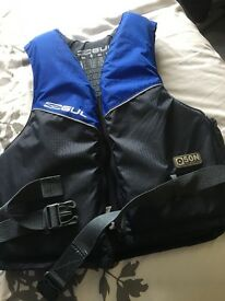 Adult Dive Vest & mask REDUCED TO SELL