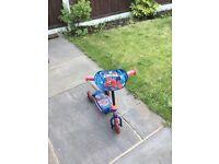 Kids Spider-Man scooter