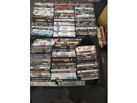 Bundle of 146 DVDs, there are a few new and still sealed.