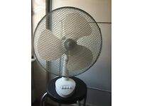3 speed desk fan