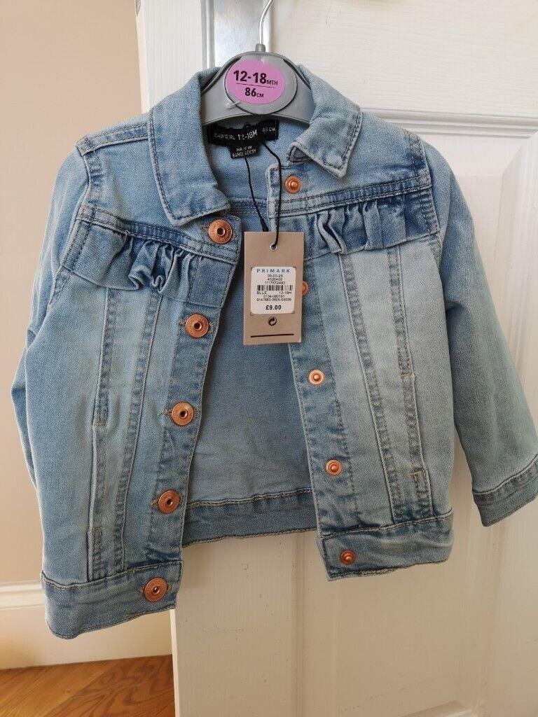 75bbed1bf346 Brand new Girls 12-18 months denim jacket