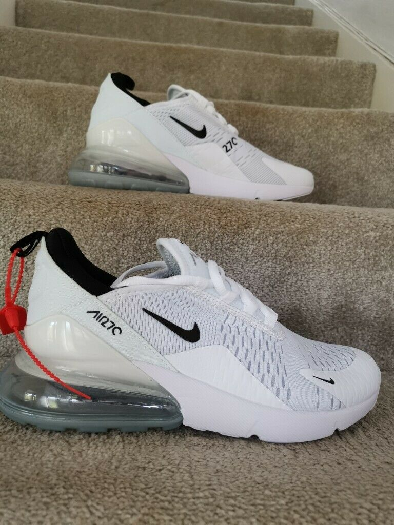 size 40 92821 bcc34 BRAND NEW Nike Air Max 270 - White, Size 7.5 Mens | in Caerphilly | Gumtree