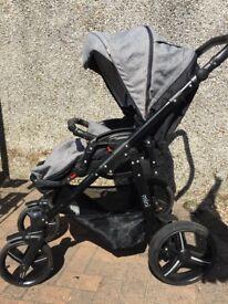 Venicci Mini Denim Grey Pram Stroller 6 Months to 3 years
