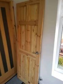 Pine doors x2