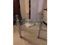 TV Stand Clear glass