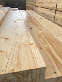 £8.50 spruce scaffold boards 2.4m new