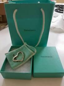 Brand new genuine Tiffany keyring