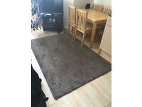Brown ikea rug. Very good condition. Needs to be gone by Friday.