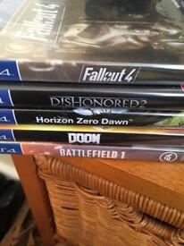 Ps4 500g plus a handful of games 200