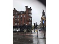 Large 2 bed flat in glasgow city centre.