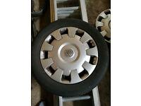 Sell steel wheels 16 '' 5x110 Vauxhall