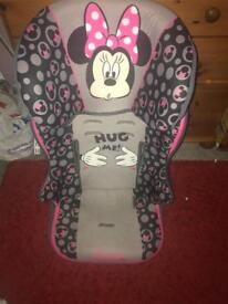 Mini mouse car seat