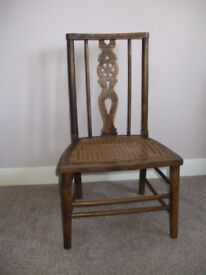 SMALL CHILD'S VINTAGE CHAIR