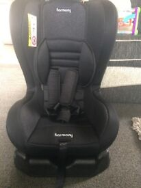 Black car seat from birth to 18kg