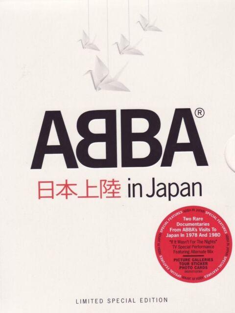 "ABBA ""IN JAPAN"" 2 DVD DELUXE EDITION WATERLOO UVM NEU"
