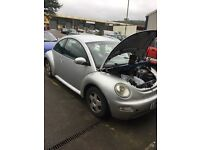 Volkswagen Beetle Silver 1.4 2004 Maual Petrol - NO ENGINE