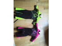 Wet suits