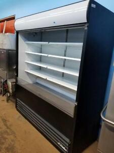 BRAND NEW 6 FT TRUE OPEN GRAB AND GO MERCHANDISER COOLER