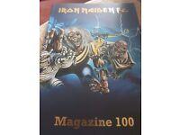 Iron Maiden FC magazine issue 100