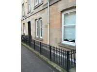 Immaculate fully furnished 2 bedroom flat in Dennistoun