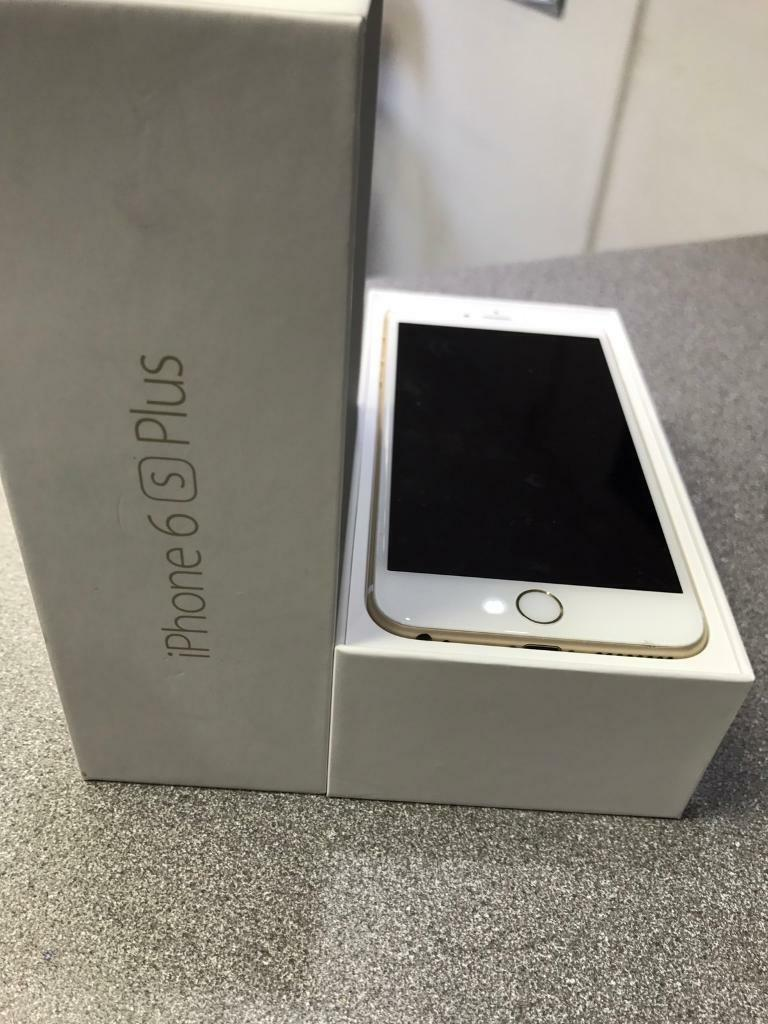 iPhone 6s Plus 64gb unlockin Leicester, LeicestershireGumtree - iPhone 6s Plus 64gb Gold colorUnlock to all network Very good condition ,just 1 2 small marks on edge.Its 64gb versionComplete with box charger