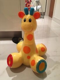 Early Learning Centre Elc Drop & Pop Giraffe Baby - Pre-School Age ExCond