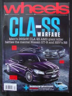 Wheels - December 2013 issue (car magazine)