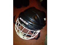 Ice Hockey Gear Helmet, Body Armour, Gloves, Skates knee, shin & Elbow pads
