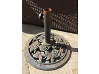 Lovely Rose patterned parasol/umbrella stand